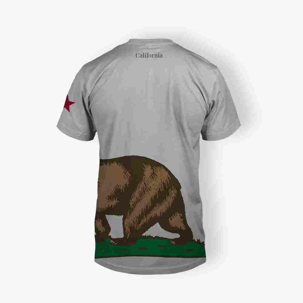 Bear t shirt white okoroire hot springs hotel for Bear river workwear shirts